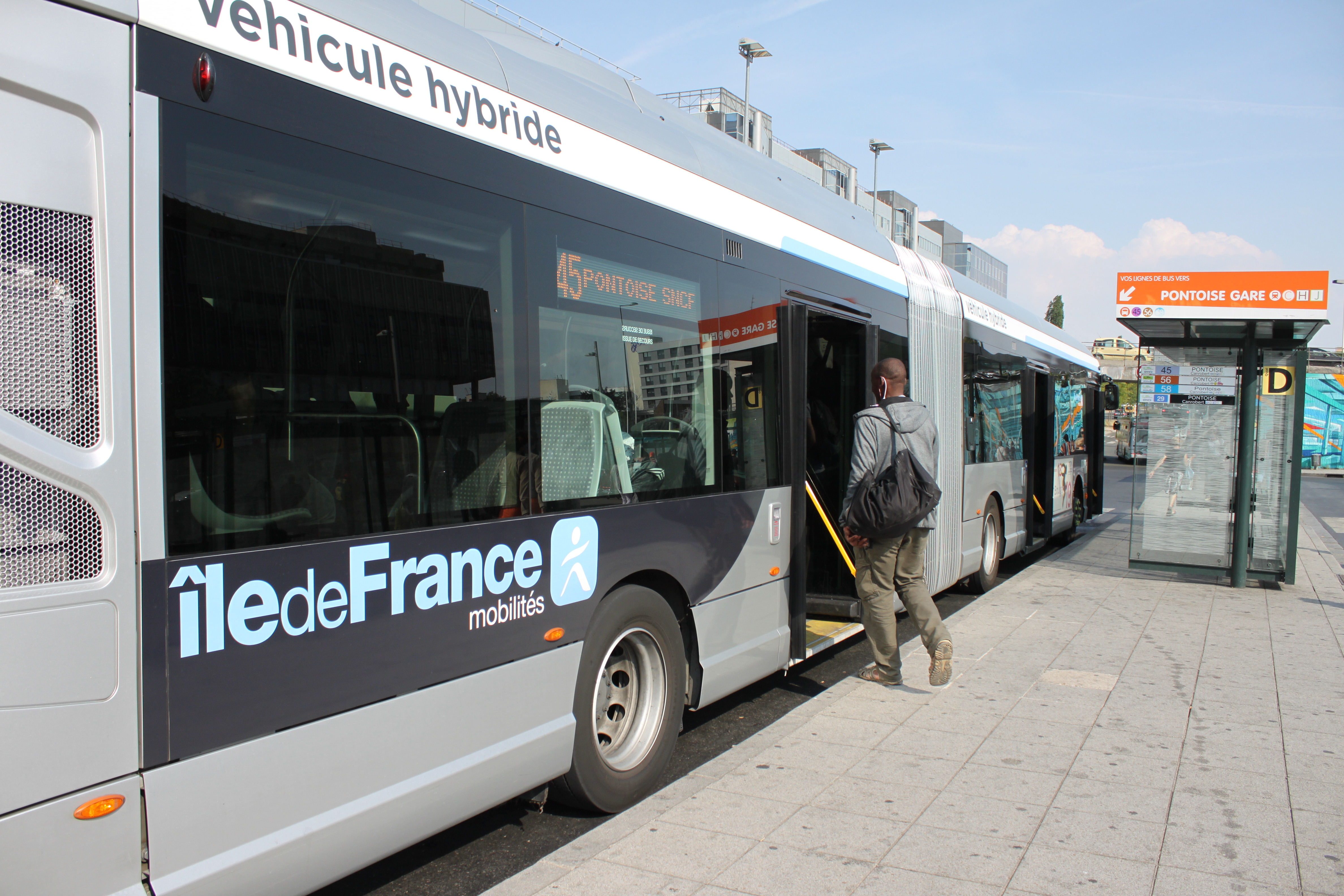 Bus hybride IDFM