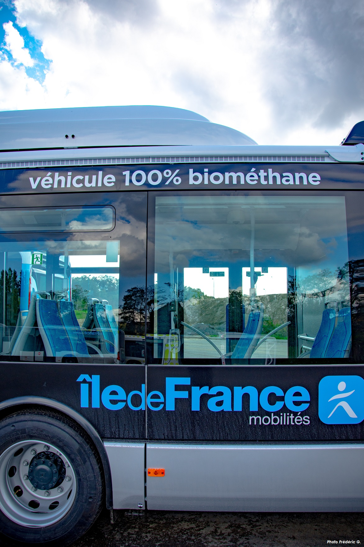 Photo bus biométhane